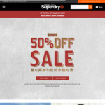 $88 off $300 Spend in-Store @ Superdry
