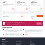 Jetstar International Friday Frenzy: SYD to Nadi $169, MEL to Bangkok $199, GC to Chch $145, Bris to Bali $199 and More