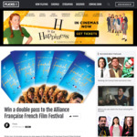 Win 1 of 20 Double Passes to the Alliance Française French Film Festival from Flicks