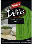 Fantastic Delites Sour Cream & Chives/Sea Salt & Balsamic Vinegar, 100g $0.90 Delivered via Subscribe & Save @ Amazon AU