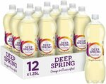 Deep Spring Orange & Passionfruit Sparkling Mineral Water 12 x 1.25L $11.69 (S&S) Delivered @ Amazon AU