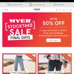 1 Day Deal: 40% off Range of Mens & Women's Jeans/Pants @ Myer