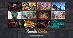 [PC] Steam - Humble Choice August 2020 (incl. Vampyr, Wargroove, Call of Cthulhu) - ~A$16.64 for all 12 games - Humble Bundle
