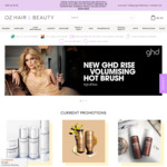 25% off Kerastase, 35% off Moroccanoil, 5% off Everything at Oz Hair and Beauty