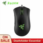Razer DeathAdder Essential Wired Gaming Mouse 6400DPI A$41.08 / US$29.27 Shipped @ Computer Online Store via Aliexpress