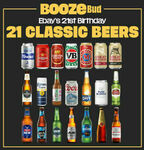 [eBay Plus] 21 Classic Beers Mixed Case $47 Delivered @ Boozebud eBay