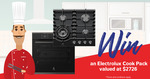 Win an Electrolux Multifunction Oven & Gas Cooktop Worth $2,726 from Retravision