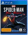 [PS4, Preorder] Spider-Man Miles Morales (with Free PS5 Upgrade) $79 @ Amazon AU and JB Hi-Fi