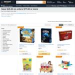 [Prime] $15 off $77 Spend on Qualifying Toys & Games @ Amazon US via Amazon AU