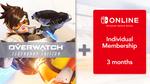 [Switch] Overwatch: Legendary Edition + 3 Months Ninendo Switch Online Membership $34.97 @ Nintendo eShop