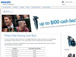 Philips Shavers - up to $100 Cash Back. Pretty Dam Good Deal