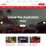 $10 off $100 Spend (up to 4 Times) @ Coles Online (Coles Credit Card Customers)