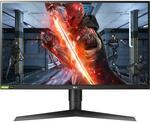 """LG 27"""" QHD, 144hz, 1ms IPS Gaming Monitor 27GL83A-B - $638.40 @ JB Hi-Fi"""