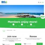 50% off 2 Year Membership and Renewals $25 (Was $50) @ BIG4
