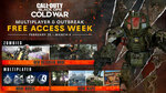 [PC, PS4, XB1] Call of Duty Black Ops Cold War Free Multiplayer & Outbreak Week