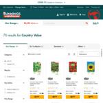 Country Value Herb, Vegetable & Flower Seeds Varieties $0.99 (Was $1.68) + Delivery ($0 C&C) @ Bunnings