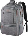 """KROSER Laptop Backpack 15.6"""" $24.49 Delivered @ KROSER Bag Store via Amazon AU"""