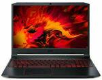 "Acer Nitro 5 15.6"" i7-10750H CPU/16GB RAM/512GB SSD/GTX 1660Ti 6GB Gaming Laptop $1259 Delivered @ Bing Lee eBay"
