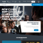 [QLD, SA, VIC, WA] 15 Months All-Clubs Access Membership $749 @ Goodlife Health Clubs (New Members Only)