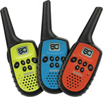 Uniden Mini UHF Handheld Radio Triple Colour Pack $39.50 + $5 Delivery ($0 C&C) @ The Good Guys Or $37.92 Delivered [eBay Plus]