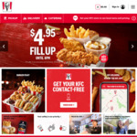 $4.95 Fill Up with Hot Rod Plus Original Tender (until 4pm Daily) @ KFC