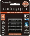 Panasonic Eneloop Pro AAA Ni-MH Batteries 4-Pack $19.75/ $17.78 (S&S) + Delivery ($0 with Prime/ $39 Spend) @ Amazon