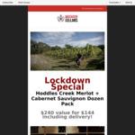40% off Hoddles Creek Estate 2018: 6x Cabernet Sauvignon + 6x Merlot = $144 Delivered ($12/bt) @ Boccaccio Cellars