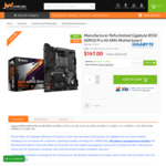 [Refurbished] Gigabyte B550 AORUS Pro AX AM4 Motherboard $147 + Delivery ($0 C&C Back Order) @ JW Computers