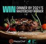 Win 2 Nights' Luxury Accomodation & Dinner Cooked by the 2021 Masterchef Winner from Deliveroo (Purchase required)