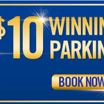 [QLD] $10 Early Bird Parking at Selected Brisbane Car Parks (+ $1.10 Booking Fee) @ Secure Parking