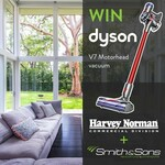 Win a Dyson V7 Motorhead (Worth $599) from Smith & Sons New South Wales