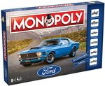 Monopoly 3968 Ford Board Game $19 + Delivery (Free with Prime/ $39 Spend) @ Amazon AU