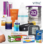$3 for a $10 VITAL+ Pharmacy Voucher for Non-Prescription Products (Min $50 Spend) & Free Delivery @ Groupon