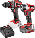 Ozito PXC 18V Brushless Drill & Impact Driver Kit $149 @ Bunnings Warehouse