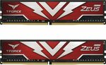 Team T-Force Zeus 16 GB (2x 8 GB) DDR4-3200 CL20 RAM $76.81 + Shipping ($0 with Prime) @ Amazon US via AU