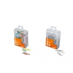 100 Pcs Paper Clips for $0.49, Mixed Colour or Stainless Sliver
