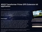 Free ASUS Transformer Prime GPS Extension Kit