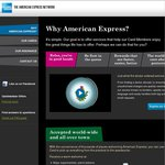 American Express Network -- Register for Westfield Prize Draws