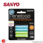 Eneloop 4x AAA 800mAh Batteries $9.95 + $3.99 Delivery at Shopping Square