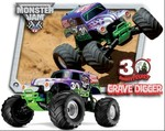 Traxxas RC Monster Jam Grave Digger 1:10 Scale Monster Truck RTR EP MT 3602X $275 + $13 Postage