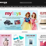 Myer - $15 off Every $75 Spend on Cameras - E.g. Canon EOS 6D w/ 24-105 Kit for $2594 - Sunday