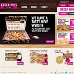 Large Pizza $4.00 at Eagle Boys Limited choices Selected Stores