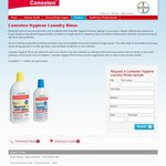 FREE Canesten Hygiene Laundry Rinse Sample - No FB Required (Name & Address Only)