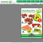 Australian Strawberries 250g Pack 3 for $3.99 @ Woolworths Vic