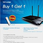 Purchase TP-LINK N600 Modem Router (TD-W8980) & Get Free USB Wi-Fi N600 Adapter (Both Dual Band)