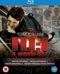 Mission Impossible 1-4 Blu-Ray Box Set $25 Delivered Zavvi