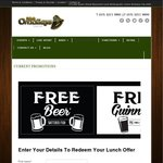 Free Lunch at Mick O'Malleys (Queen St, Brisbane)