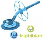 Poolrite Triphibian Head-Only Pool Cleaner $49 with Free Shipping
