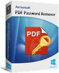 Free Aimersoft PDF Password Remover (Windows & Mac) (Normally $20)