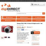 Olympus PEN Mini E-PM2 14-42mm IIR Single Lens Kit - Red $229 (after Cashback) from digiDIRECT